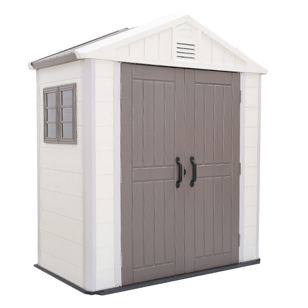 MSR 001 Marron Single Room Garden Shed